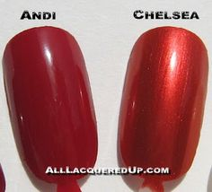 Zoya - Andi & Chelsea* (Uptown Collection Fall 2007) / AllLacqueredUp [*Chelsea is No Longer Available]