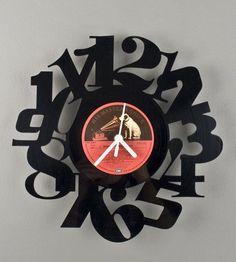 Riciclo creativo dei dischi in vinile