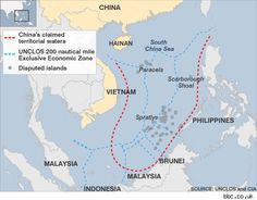 "A dispute to no end: South China Sea | ""The South China Sea, otherwise known as the South Sea in China, East Sea in Vietnam and parts as the West Philippine Sea, has been an issue of contention among the bordering nations, predominately Brunei, Malaysia, the Philippines, the People's Republic of China, ""  via coolge.in"