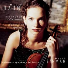 Hilary Hahn playing Beethoven and Bernstein. Love her.