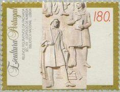 Sello: Sculptures (Portugal) (Sculptures) Mi:PT 2026,Sn:PT 2006,Yt:PT 2004,Afi:PT 2224