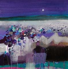 by Emma S Davis I love these colours! One day I WILL own one of these beautiful paintings!!
