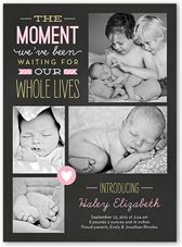 Adoption Birth Announcements & Baby Birth Announcement Cards | Shutterfly