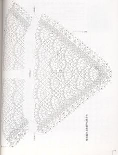 ONDORI CROCHET CAPE, SHAWL, PONCHO, VEST, MUFFLER, ECC. - Azhalea ONDORI 1 - Picasa Web Albums
