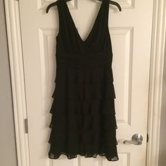 EUC Calvin Klein Black Dress Perfect black dress. Sleeveless cocktail dress in mint condition. Size 2 Calvin Klein Dresses