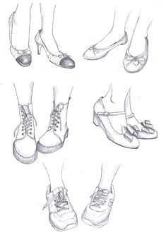 Feet, pencil, 2014 - New Pin Pencil Art Drawings, Art Drawings Sketches, Feet Drawing, Shoe Drawing, Clothing Sketches, Fashion Design Drawings, Drawing Fashion, Poses References, Art Reference Poses