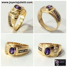 Anillos De Grado Class Ring, Chelsea, Rings For Men, Wedding Rings, Perfume, Engagement Rings, Gold, Jewelry, Graduation
