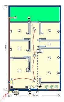 CURSO DE INSTALACIONES ELÉCTRICAS: TEMA 4. Procedimiento para calcular el calibre de los alimentadores principales de una Instalación Eléctrica Residencial.