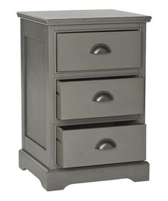 Nightstand Gray Dexter Side Table | zulily