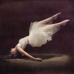 'This is what the things can teach us: to fall, patiently to trust our heaviness. Even a bird has to do that before he can fly.' Rilke (ph. Brooke Shaden)