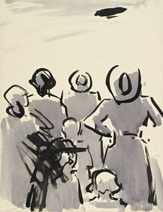 The Air Ship by Francis Campbell Boileau Cadell, via Mirrorbox