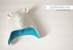 cute baby hat pattern and tutorial