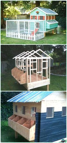 DIY Condo Chicken Coop Free Plan #chickencoopdiy