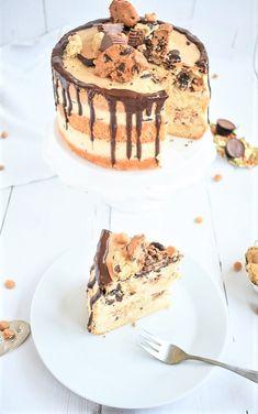 Recipe for a cookie dough cake – Zuckerdeern.de – Famous Last Words Cookie Dough Vegan, Cookie Dough Oreo Brownies, Vegan No Bake Cookies, Egg Free Cookies, Cookie Dough Cake, Quick Cookies, Cookie Dough Truffles, Cookie Dough Recipes, Edible Cookie Dough