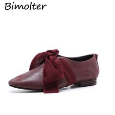 Aliexpress.com   Buy Bimolter Genuine Leather Flat Shoes Woman Cow Leather  Spring Summer Wine Red Black Casual Shoes Women Flats LFYA002 from Reliable  ... efa1a9b1f1