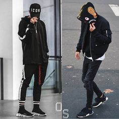 WEBSTA @ outfitsociety - #OutfitSociety ContestVote Left or Right.@sup2o (LEFT) v @marnixnoordijk (RIGHT).Winner will face another contender tommorow.No spam. One Comment Per User.