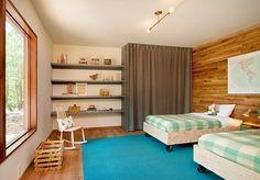 Dormitorul copiilor intr-o cabana de munte. #decordormitorcopii, #amenajaricameracopiilor