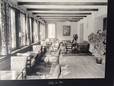 Our Lounge in the 1940s
