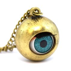 Doll's Eye Pendant Necklace