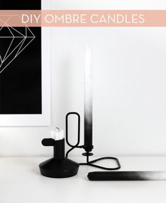 How To: Make Stylish DIY Ombre Candles