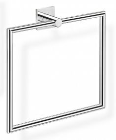 A Square Towel Holder from TEMPO collection is made of high brass galvanized with chrome that results in high quality of the product. The quality is confirmed with 12 year guarantee. www.sancodesign.co.uk