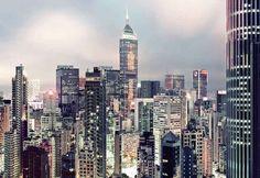 Fotobehang Skyline - New York behang | Muurmode.nl