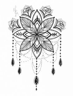 Tatto Ideas 2017 – Mandala Illustration – Tattoo Art – Pen and Ink Drawing – Giclee Print Tatto Ideas & Trends 2017 - DISCOVER Illustration de Mandala - Tattoo Art - stylo et encre dessin - 5 x 7 giclée Print Discovred by : Vanessa Tiffon Tattoo Dotwork, Tattoo Henna, Tattoo Art, Underboob Tattoo, Lotus Tattoo, Tattoo Thigh, Tattoo Fonts, Compass Tattoo, Tattoo Outline Drawing