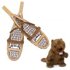 Beaver and Snowshoe Set