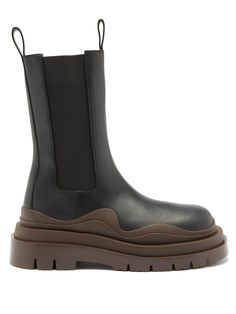 Chunky Boots, Brown Boots, Black Boots, Leather Fashion, Fashion Shoes, Zara Boots, High Leather Boots, Boot Shop, Designer Boots
