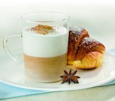 Cappuccino al cacao e anice stellato
