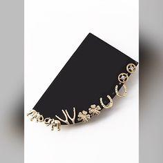 """Six Piece Charm Stud Set Earrings * Six Piece Charm Stud Set Earring  * .3 x .3/ .6 x .6"""" approx. Jewelry Earrings"""