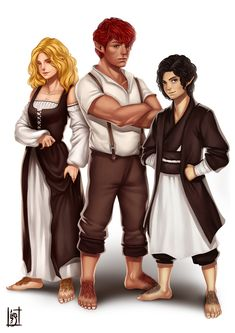 Halflings by meekowdesigns.deviantart.com on @DeviantArt
