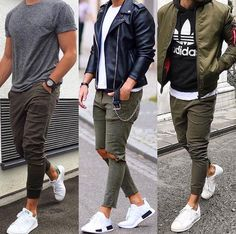 LETHARGARIANS: The furthest left outfit for the male ones. add a beanie maybe.