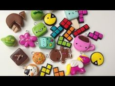 Polymer Clay Charm Update #17 - YouTube