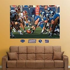 "New York Giants 5"" x 15' Wall Border from Kentex by Kentex/$31.44 ..."