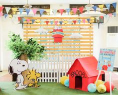 Peanuts/Charlie Brown Birthday Party Ideas | Photo 1 of 58
