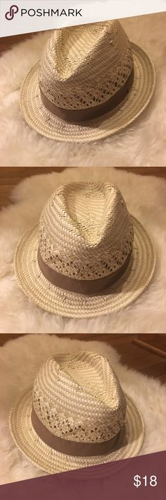 J. Crew straw fedora, One Size 100% paper straw fedora. I'm happy to answer any questions! J. Crew Accessories Hats