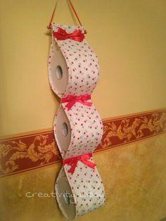 creativity lissy cucito creativo porta rotoli da bagno