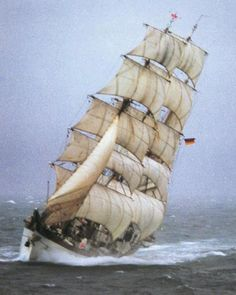 The SSS Gorch Fock II is a three-masted, steel-hulled barque launched in 1958…