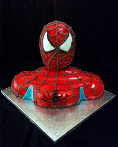 Spiderman cake by Dora Th.