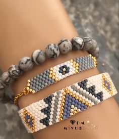 How To Make Handmade Beaded Jewelry Bead Loom Bracelets, Beaded Bracelet Patterns, Bead Loom Patterns, Beading Patterns, Beaded Earrings, Handmade Beaded Jewelry, Boho Jewelry, Jewelry Crafts, Diy Schmuck