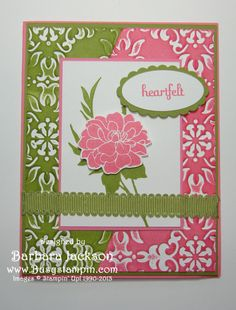 Fabulous Florets with Split Impressions Brayering by BarbaraJackson - Cards and Paper Crafts at Splitcoaststampers