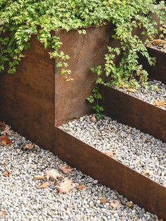 Back Gardens, Outdoor Gardens, Landscape Architecture, Landscape Design, Contemporary Landscape, Architecture Design, Saint Sauveur, Rammed Earth, Ground Floor Plan