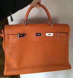 authentic hermes birkin orange for sale