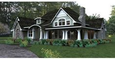 Monster House Plans has the largest selection of house plans and we can customize any house plan in our collection. http://www.monsterhouseplans.com/country-style-house-plans-2267-square-foot-home-1-story-3-bedroom-and-3-bath-2-garage-stalls-by-monster-house-plans-plan61-116.html