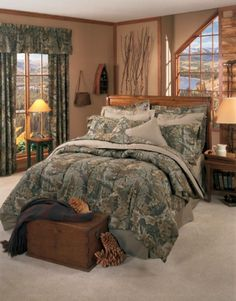 Realtree Advantage Green Camo Bedding Is For Those Who Like A Realistic  Looking Green Camouflage Pattern