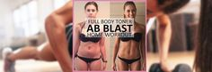 🏋 Ab Blast Full Body Toner – At Home Workout for Women. These Results Turn Heads!