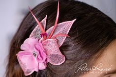 Haarschmuck & Kopfputz - Haarblume Lotusblüte Braut Chiffon Blume AB 201 - ein Designerstück von Perle-Wismer bei DaWanda
