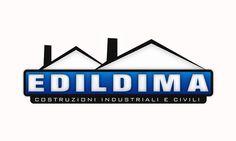 """Ideazione, Progettazione e Sviluppo della grafica del logo """"Edildima (Roma - Edilizia)""""."""