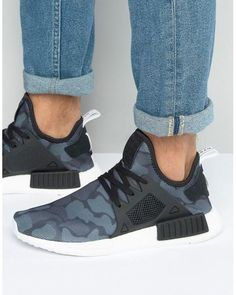 Adidas Originals   Nmd xr1 Sneakers In Black Ba7231 for Men   Lyst Retro  Sneakers, Black 478a31dac2